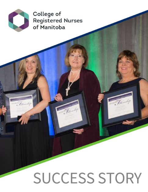 College of Registered Nurses of Manitoba Success Story Card